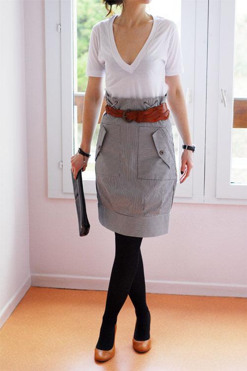 Slim Taille Haute H&m Jupe Taille Haute H&m