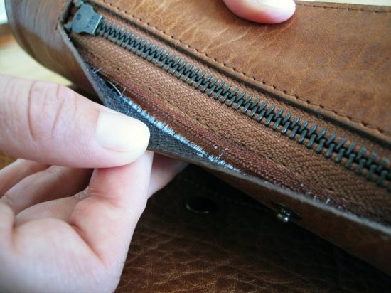 comment reparer la fermeture eclair d un sac