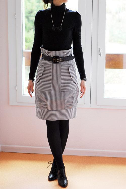 Slim Taille Haute H&m Jupe Taille Haute H&m Trend