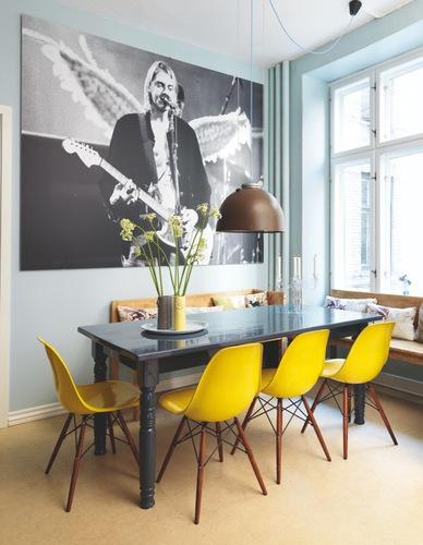 Stunning Chaise De Cuisine Jaune Gallery - Matkin.info - matkin.info