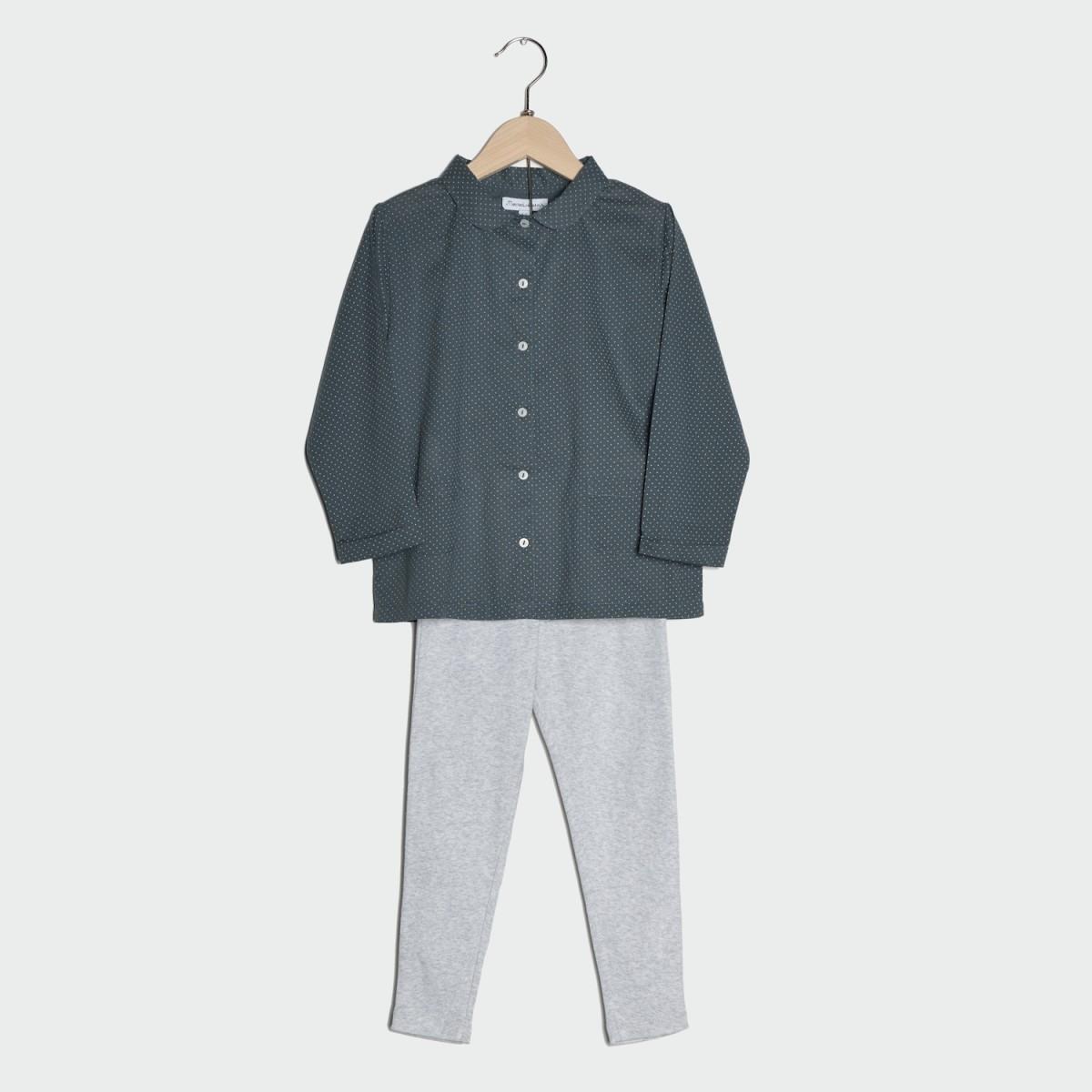haut-de-pyjama-fille-gris
