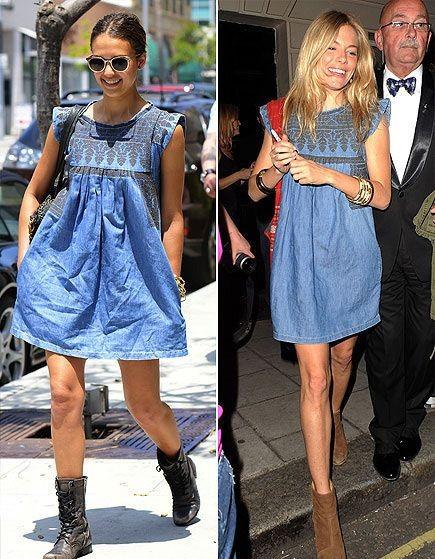 2015-Brand-New-Retro-font-b-Blue-b-font-Denim-Embroidery-Women-font-b-Dress-b